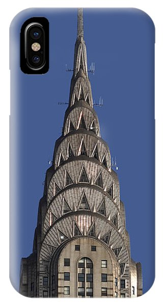 The Chrysler Building - Deco Detail IPhone Case