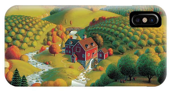 Fall Scenes iPhone Case - The Cider Mill by Robin Moline