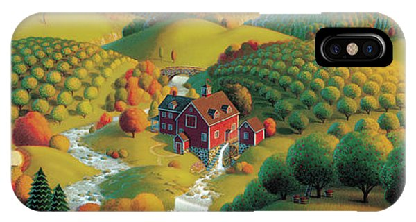 Panorama iPhone Case - The Cider Mill by Robin Moline