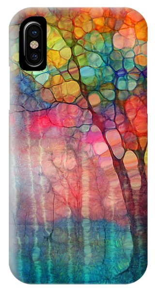 Uplift iPhone Case - The Circus Tree by Tara Turner