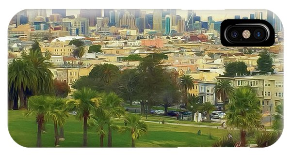 The City From Dolores Park IPhone Case