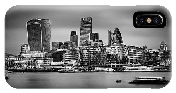 The City Of London Mono IPhone Case
