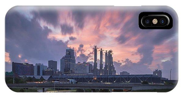 The City Rises IPhone Case