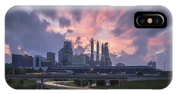 The City Rises IPhone Case