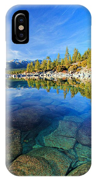 The Clarity Of Lake Tahoe IPhone Case