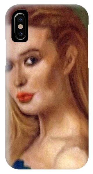 The Classic Beauty IPhone Case
