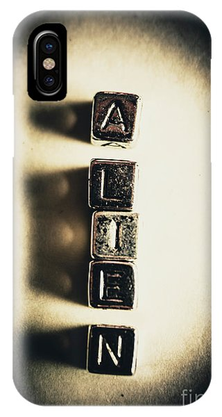 Aliens iPhone Case - The Classified Alien Lie by Jorgo Photography - Wall Art Gallery