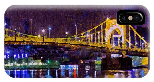 The Clemente Bridge Heading To The Northshore IPhone Case