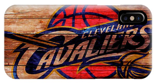 Kyrie Irving iPhone Case - The Cleveland Cavaliers W1 by Brian Reaves
