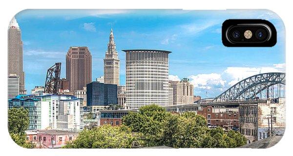 The Cleveland Skyline IPhone Case