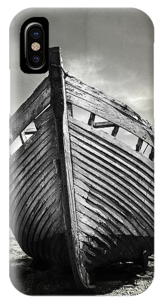 Boats iPhone X Case - The Clinker by Mark Rogan
