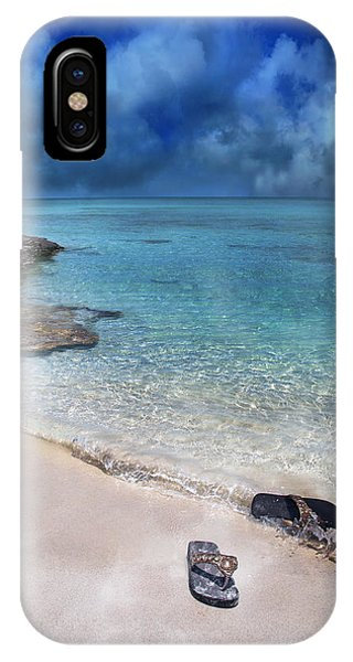 Carribbean iPhone Case - The Cloud Parade by Betsy Knapp