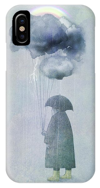 Rainbow iPhone Case - The Cloud Seller by Eric Fan