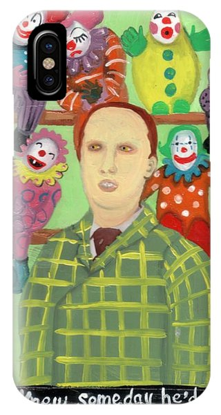 The Clown Collector Is Single IPhone Case