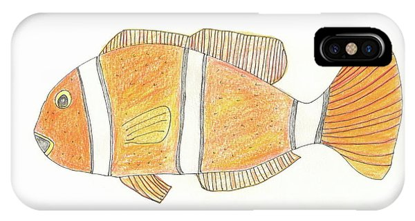 The Clown Fish IPhone Case