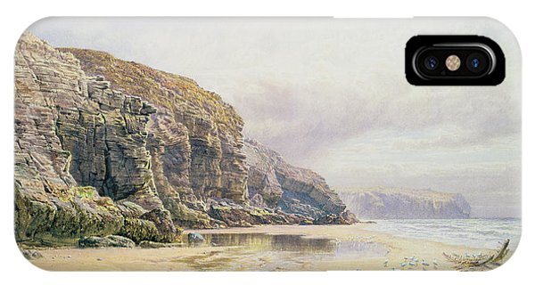 West Bay iPhone Case - The Coast Of Cornwall  by John Mogford