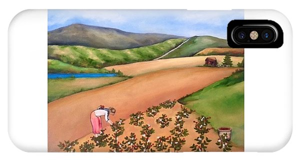 iPhone Case - The Coffee Harvest by Stephanie Callsen