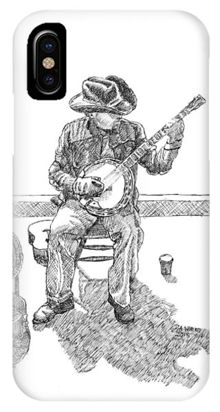 The Cold Banjo Player IPhone Case