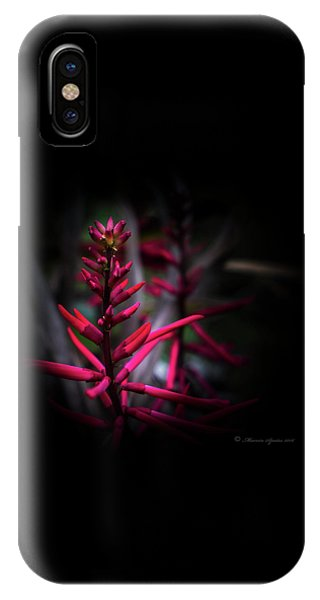Close Focus Floral iPhone Case - The Color Beautiful by Marvin Spates