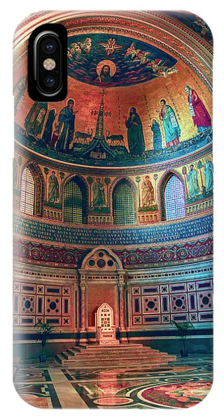 The Colorful Interior Of Roman Catholic Cathedral IPhone Case