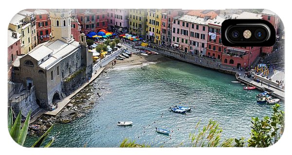 The Colors Of Vernazza IPhone Case