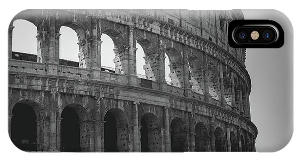 The Colosseum, Rome Italy IPhone Case