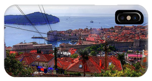 The Colourful City Of Dubrovnik IPhone Case