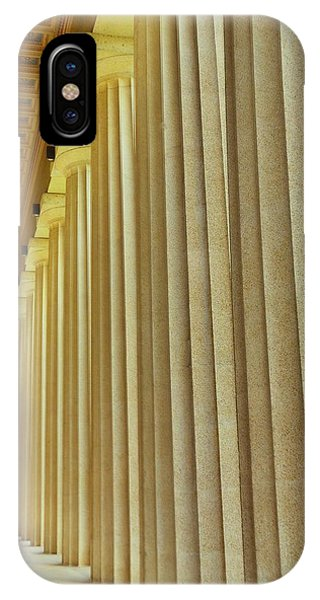 The Columns At The Parthenon In Nashville Tennessee IPhone Case