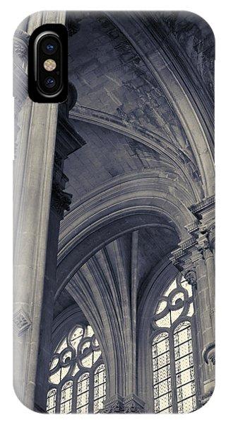 The Columns Of Saint-eustache, Paris, France. IPhone Case