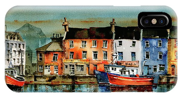 The Commercial Docks, Galway Citie IPhone Case