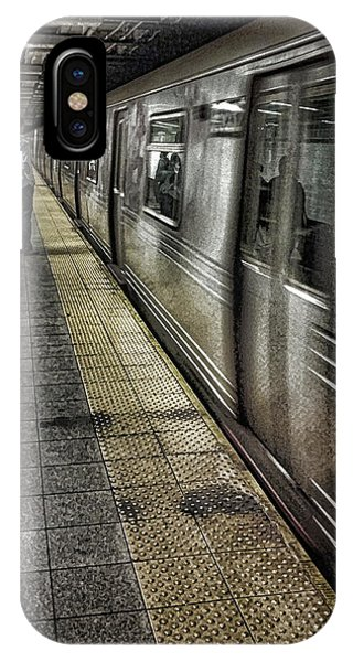 Railroad Station iPhone Case - The Commute by Martin Newman