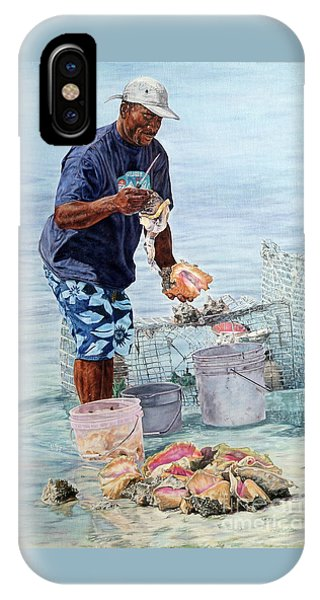 The Conch Man IPhone Case