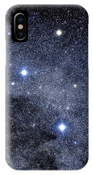 The Constellation Of The Southern Cross Phone Case by Luke Dodd