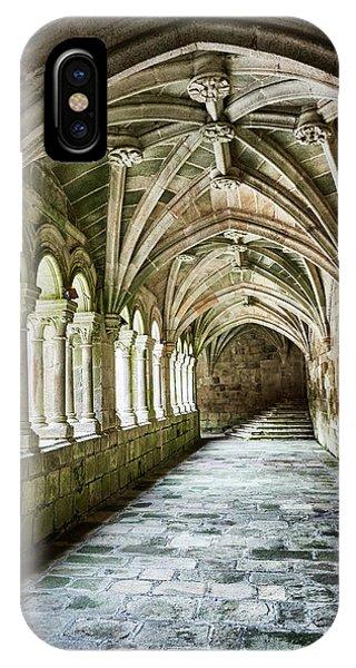 The Corridors Of The Monastery IPhone Case