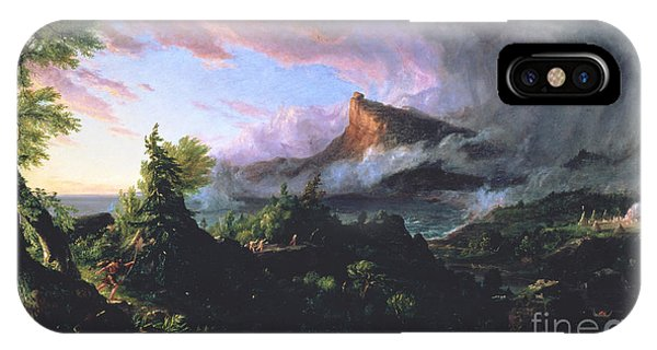 The Course Of Empire - The Savage State IPhone Case