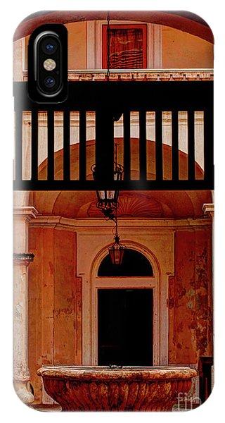 The Court Yard Malta IPhone Case