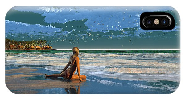 The Courtship Of Sand IPhone Case