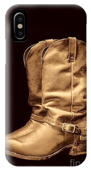 The Cowboy Boots IPhone Case