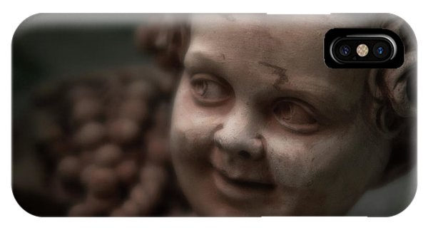 The Creepy Statue IPhone Case