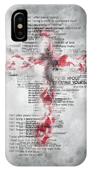 The Cross Speaks IPhone Case