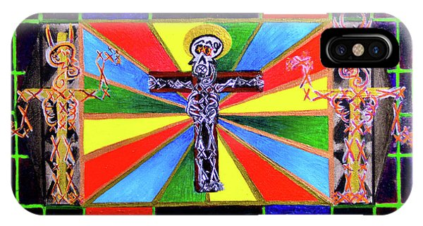The Crucifffictiooon - Paradisi Gloooria IPhone Case
