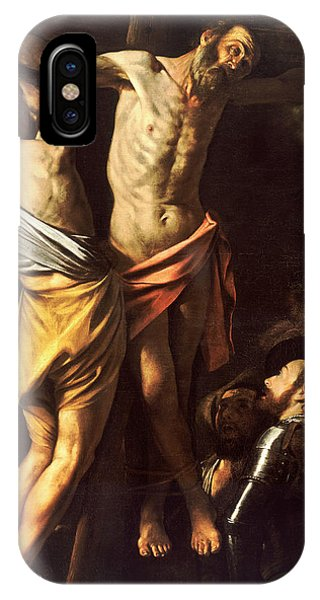 Crucifixion iPhone Case - The Crucifixion Of Saint Andrew by Caravaggio