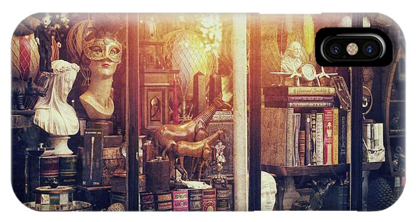Window Shopping iPhone Case - The Curiosity Shop by Tim Gainey
