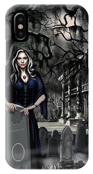 Voodoo iPhone Case - The Curse Of Johnson Bayou by James Christopher Hill