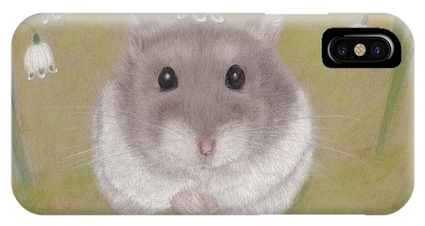 Hamster iPhone Case - The Cutest Annunciation by Kazumi Haseyama