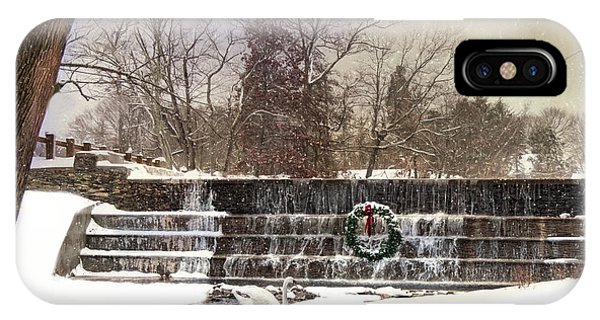 The Dam At Christmas IPhone Case