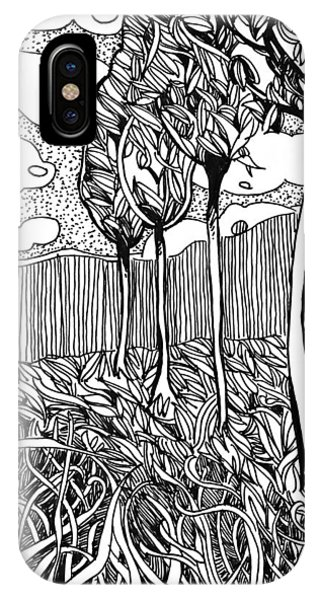The Dance Of The Wind IPhone Case