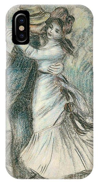 Dance iPhone Case - The Dance by Pierre Auguste Renoir