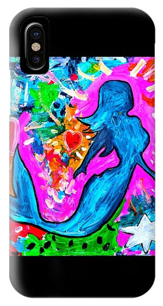 The Dancing Mermaid IPhone Case