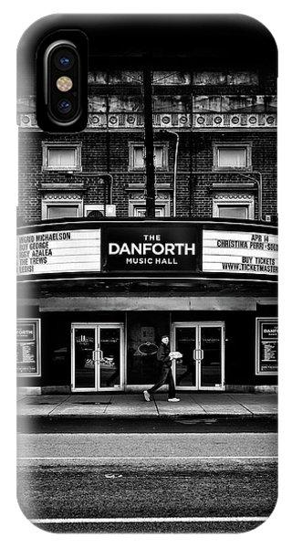 The Danforth Music Hall Toronto Canada No 1 IPhone Case